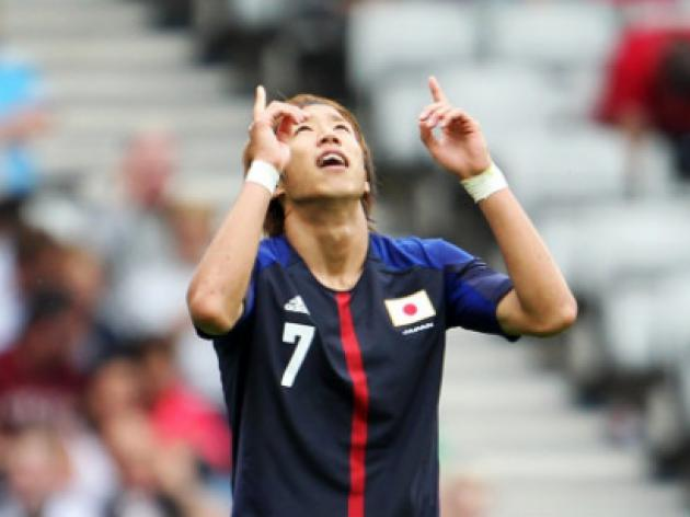 Giant-killing Japan stun Spain in Olympic opener