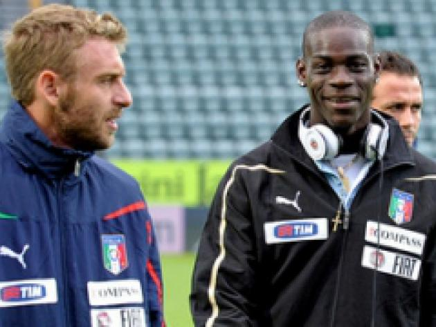 Balotelli doubtful for Azzurri