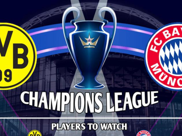 Borussia Dortmund V Bayern Munich : Champions League Final Infographic