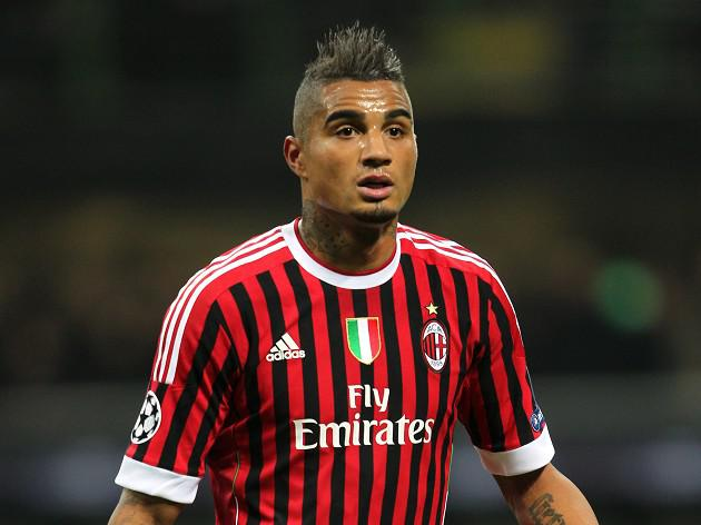 AC Milan midfielder Boateng walks off after racist abuse