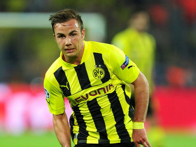 Dortmund hoping to have Gotze for Champions League final