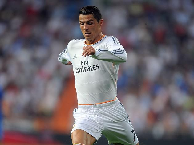 Hamstring injury sidelines Madrid's Ronaldo