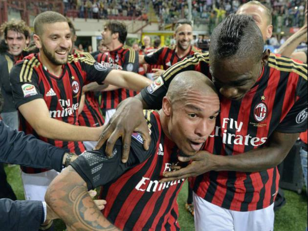 De Jong heads Milan to long-awaited derby win