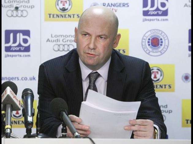 D-Day for Rangers' Players over redundancies