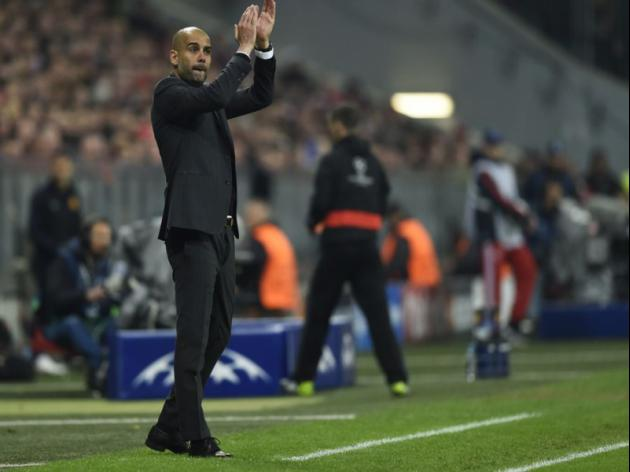 Guardiola hails best hour at Bayern
