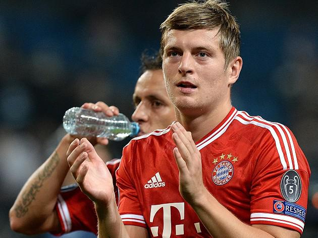 Bayern star Kroos hints at Premier League move