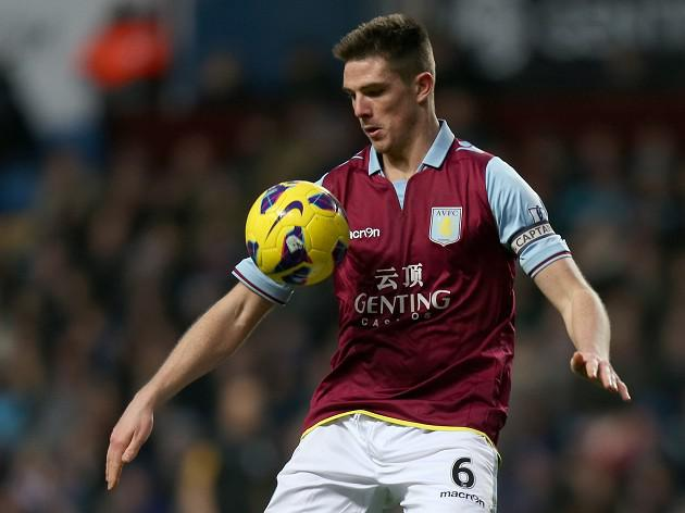 Aston Villa defender Ciaran Clark keen to take focus off Benteke