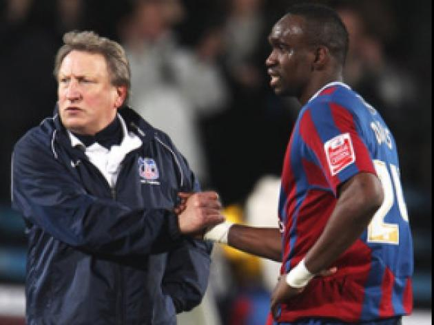 Warnock welcomes Palace cup run