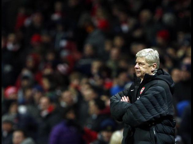 Wenger calm despite defeat