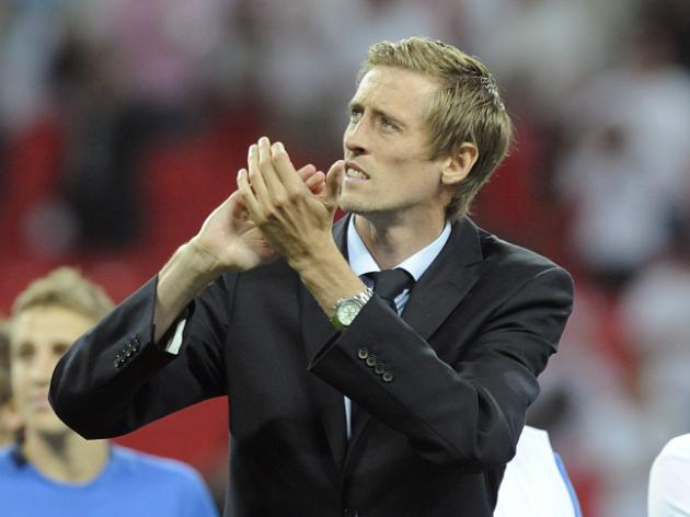 Crouch out of England Euro 2012 qualifiers