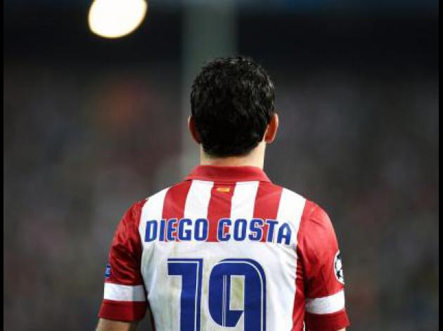 Diego Costa to miss Barcelona return