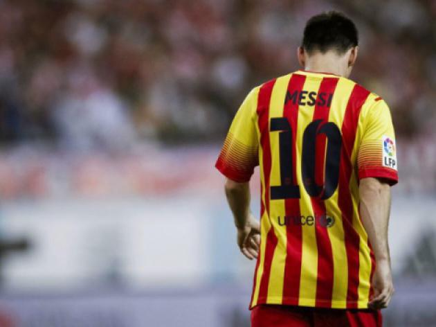 Injured Messi a doubt as Barcelona travel to Malaga