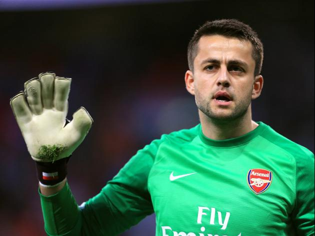 Arsenal's Fabianski heads to Swansea