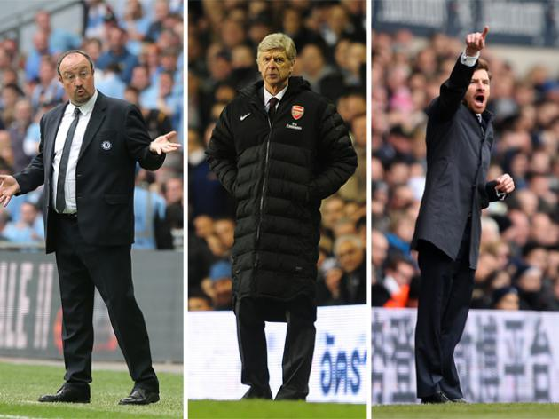 Three into two doesn't go. Chelsea, Spurs and Arsenal: Who believes?