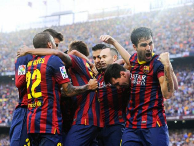 Barca carry Clasico momentum into Celta clash