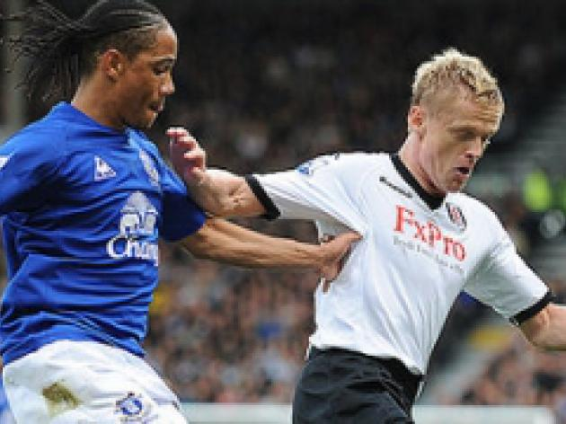 Fulham hold out as Toffees hit the depths