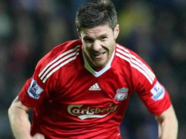 Real Madrid step up pursuit of Liverpool's Xabi Alonso