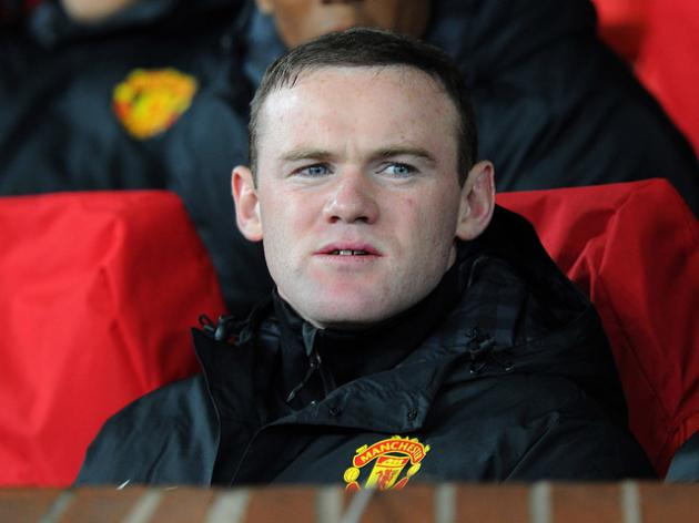 Moyes puts Rooney in his place - on the bench!