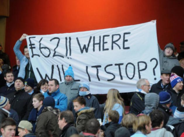 Fan anger mounts over Premier League ticket prices