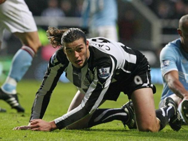 Manchester City eye Andy Carroll as Wolfsburg lower Edin Dzeko demands