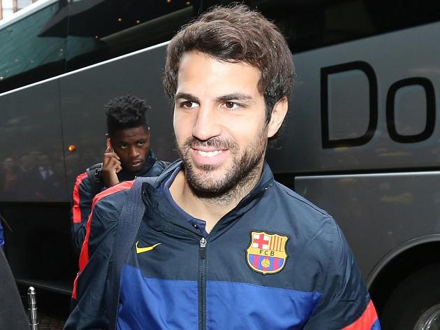 Barca duo confident over Fabregas