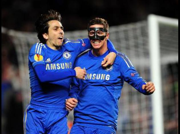 Torres nets twice in Chelsea win