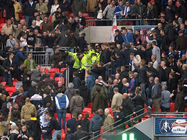 Lions lament Wembley violence
