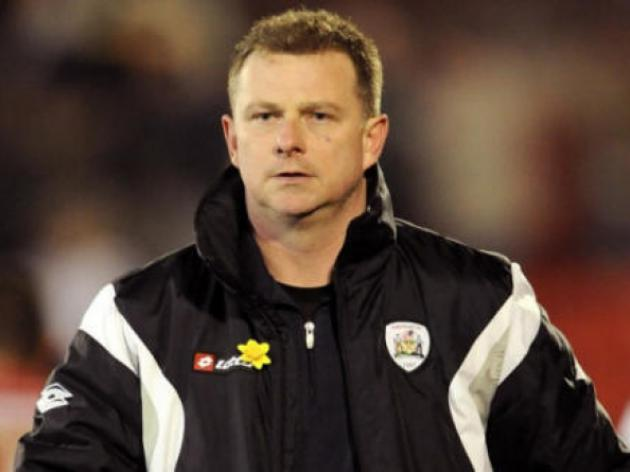 I'll take the point and move on says Coventry City boss Robins