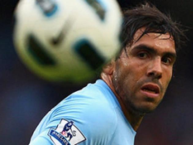 City reject Ã'40m Tevez offer