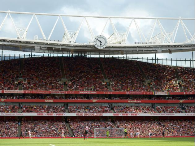 Arsenal Emirates Stadium Paid by Barca  Man City Transfers
