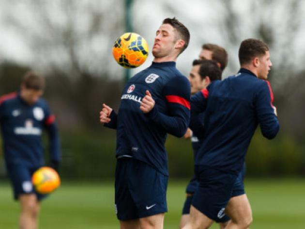 Five England players miss training