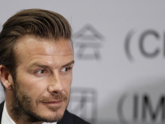 Beckham sees bright future for China game