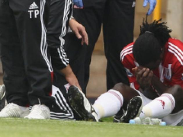 Stoke star Jones facing ankle scan