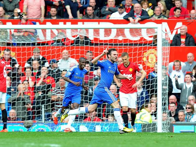 United undone by late Mata winner