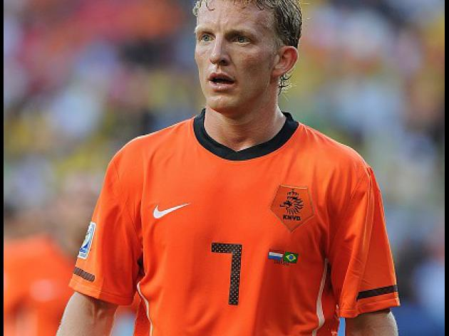 Kuyt suffers ankle injury on Netherlands duty