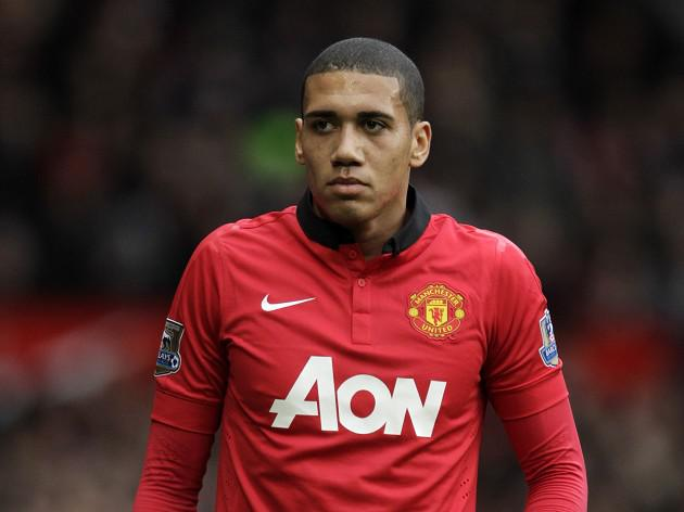 Smalling looks up to birthday boy
