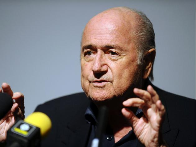 FIFA bats away Sepp watch question