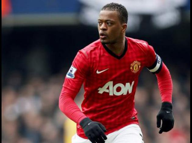 Evra not expecting credit for United's title bid