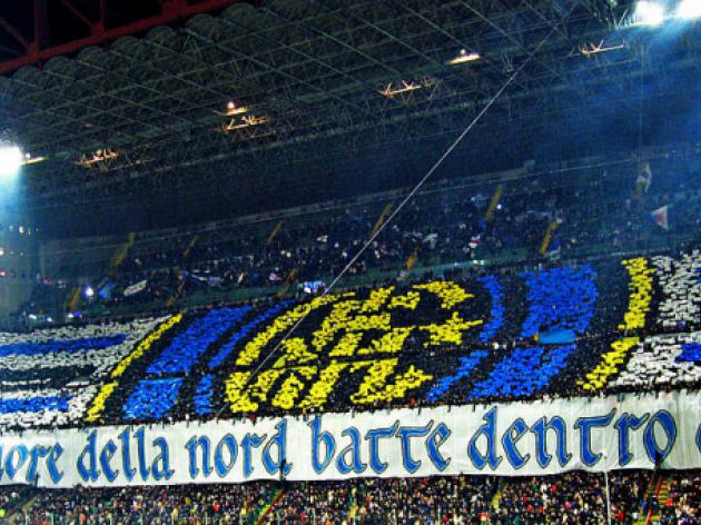 Inter curva closed after racist incidents