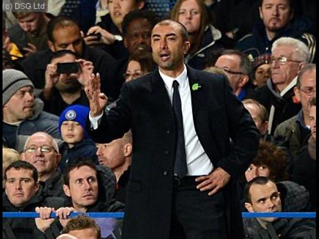 Di Matteo feels hard done by