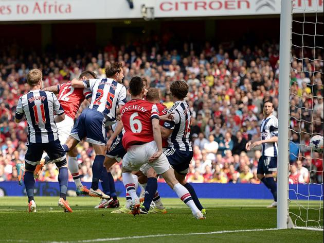 Arsenal 1-0 West Brom: Match Report