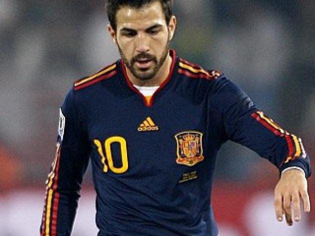 Fabregas available for Spain
