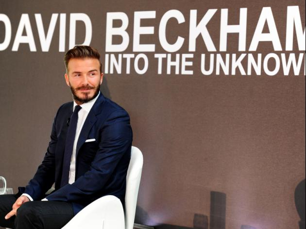 Just What Is David Beckham Thinking?