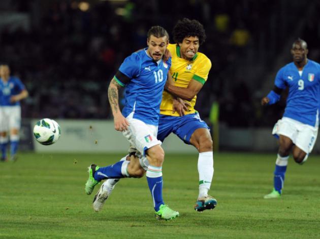 Italy teach Brazil a lesson
