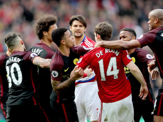 sport football premier league manchester united shift balance towards city yaya toure