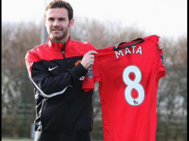 Mata relishes playing with Rooney