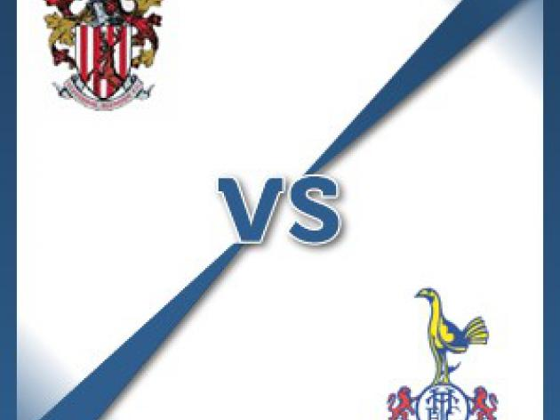 Stevenage Borough V Tottenham Hotspur - Follow LIVE text commentary
