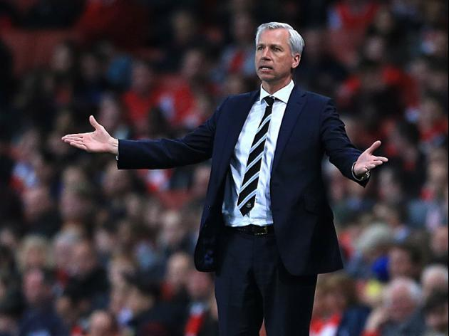No change with Pardew