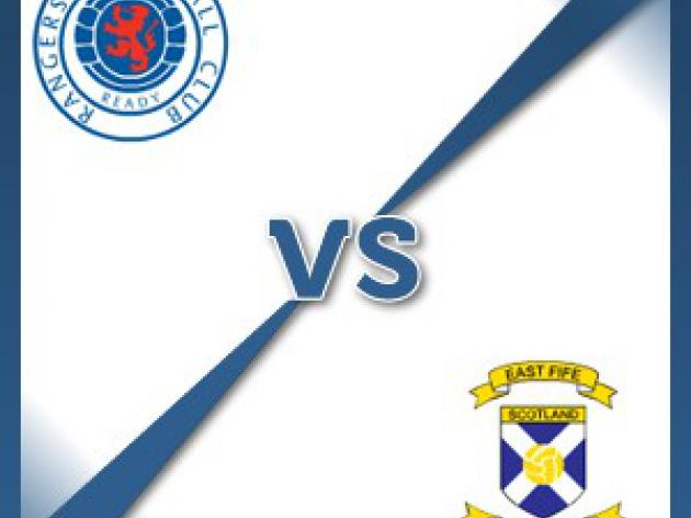 East Fife away at Rangers - Follow LIVE text commentary
