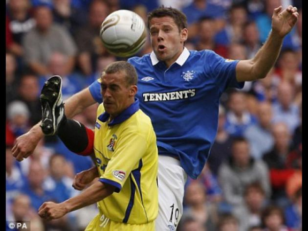 James Beattie relishing first Old Firm clash since joining Rangers